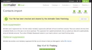 dotmailer Data Management