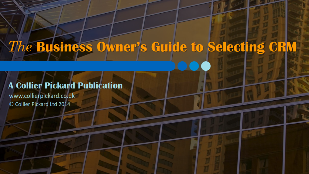 Business Owners Guide to CRM