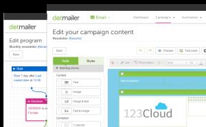 dotmailer campaign content