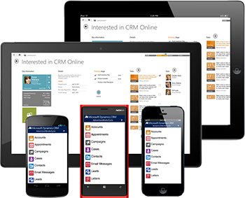 Microsoft Dynamics CRM Mobile Access
