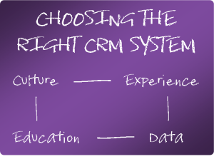 Choosing the Right CRM System