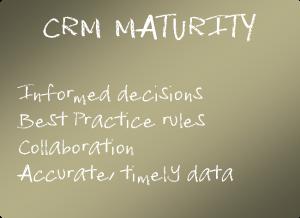 CRM maturity