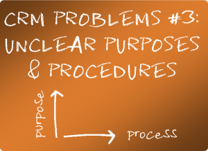 Unclear purposes and proceedures