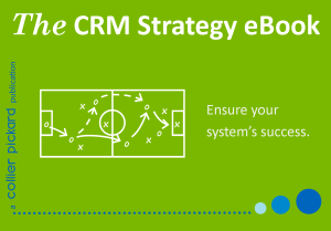 The CRM Strategy eBook