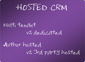 Hosted CRM