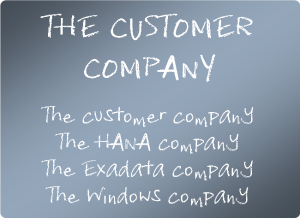 The Customer Company