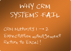 Why CRM systems fail
