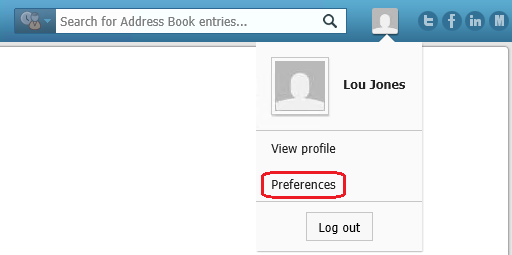 Maximizer_CRM_My_Work_Day_personal_preferences.png