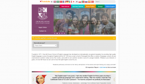 Churchill House School of English and Maximizer CRM