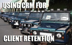 how to use crm for client retention