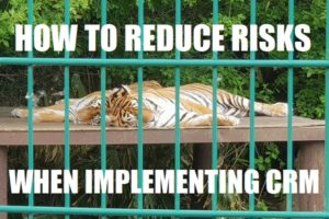 reducing risk when implementing crm