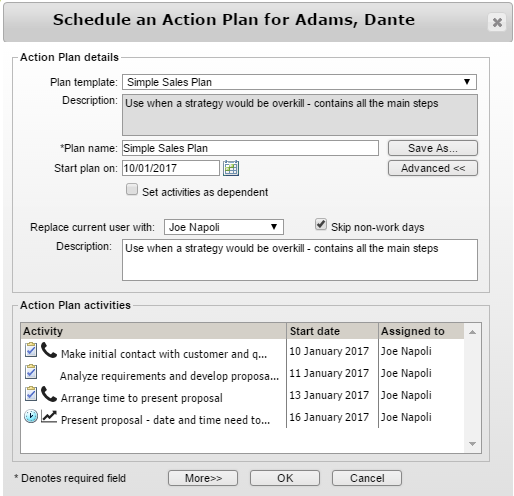 Working with Action Plans in Maximizer CRM - Collier Pickard